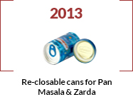re-closable cans